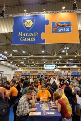 Mayfair et Lookout partageaient le même stand cette année...