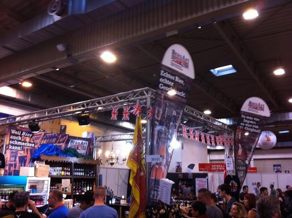 Notre fameux stand 2-D131, sur lequel on s'est souvent retrouvés entre amateurs d'autres bières que de la Pils...