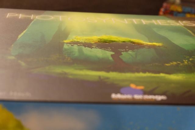 La boîte est juste magnifique, avec ce léger relief brillant et qui accroche les doigts, présent sur l'arbre au centre de la boîte...