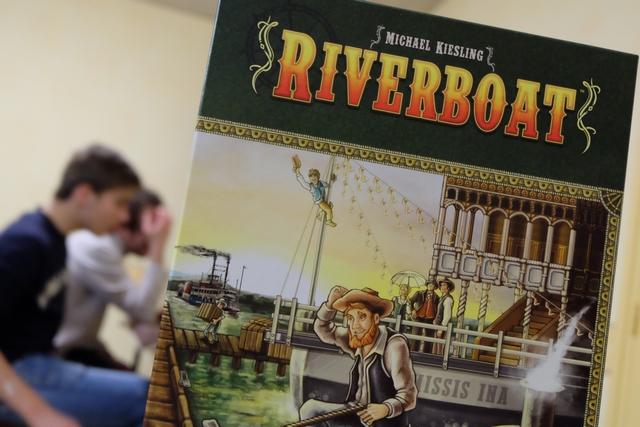 La boîte tangue, comme nos bateaux à venir sur la Riverboat...