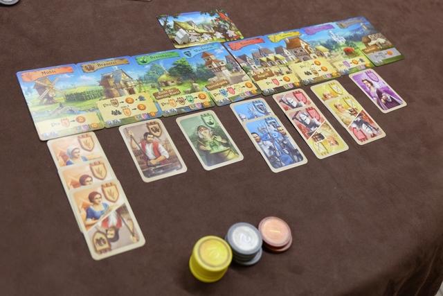 Mon royaume, complet aussi, mais trop peu de points amassés pendant la partie...