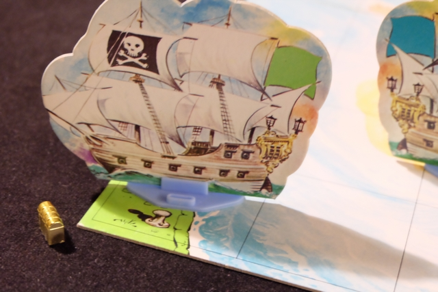 Premier bateau revenu à bon port avec un trésor : mon bateau vert !