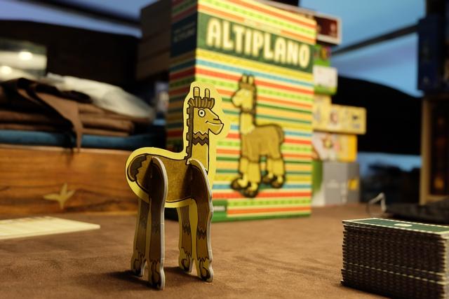 Altiplano pour la première fois sur la table de jeu de ma mezzanine !