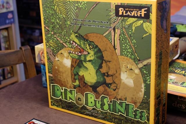 Ca faisait longtemps... Revoilà Dino Business sur la table !