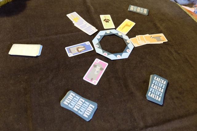Fin de partie, après qu'un joueur a épuisé définitivement sa main de cartes. On obtient 1 PV par carte empochée, quel qu'en soit le numéro.
