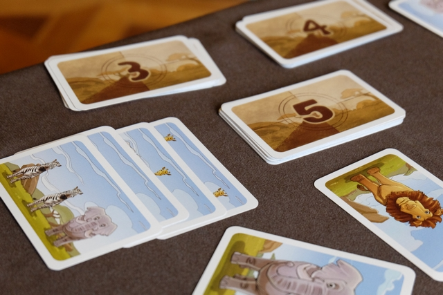 Joris a terminé de valider ses cartes de valeur 3, il va s'attaquer aux cartes de valeur 4.