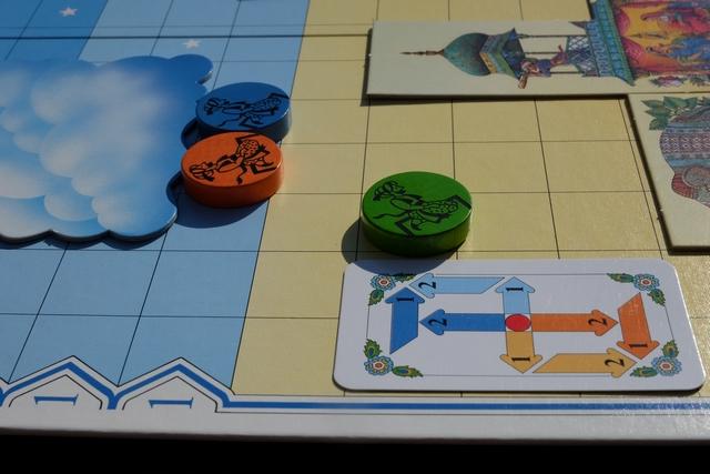 Petit exemple de sale coup d'enfoiré qu'on peut faire aux autres, avec votre serviteur aux manettes en utilisant cette carte : deux montées, décalage d'un cran à droite + un dû au vent et... vous avez deviné la suite ?