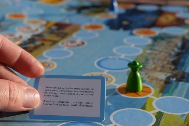 Exemple de carte salvatrice : je vais rejoindre, sans encombre, ma ch'tiote qui était aux avant-postes !