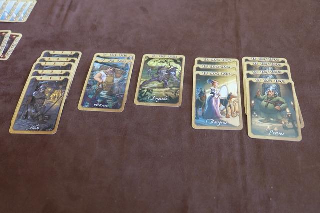 Et voici mes ultimes cartes posées...