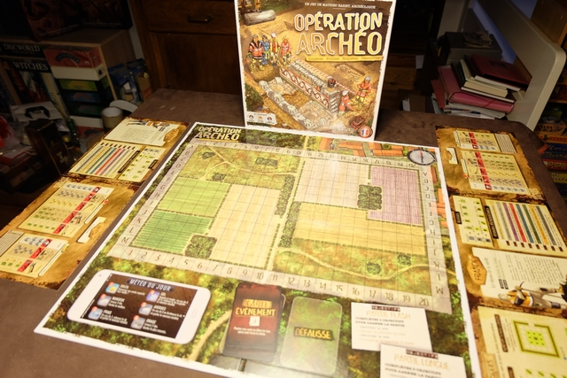 Installation du jeu, magnifique, et premières fouilles à venir, avec le scénario n°1 niveau facile...