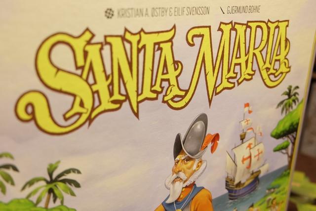 Troisième partie de Santa Maria en très peu de temps ! Miam, miam, miam...