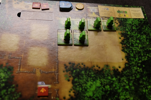 Petite vue de mon plateau avant d'attaquer la deuxième année... Qui a dit que j'étais le roi de la ferme ? ;-)