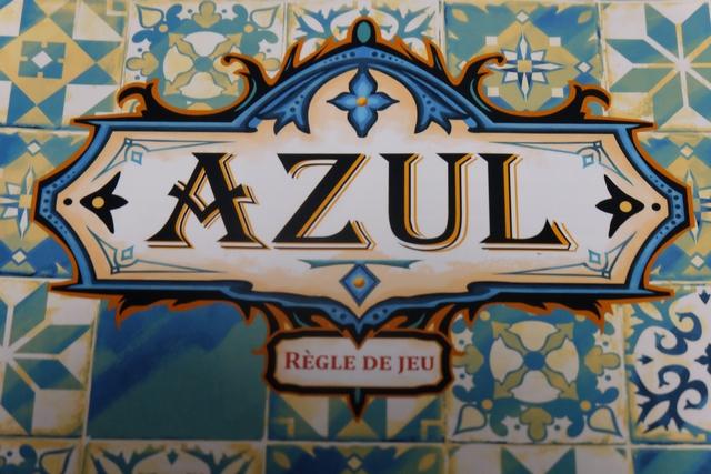 Azul, forcément le premier jeu sur la table de nos vacances...