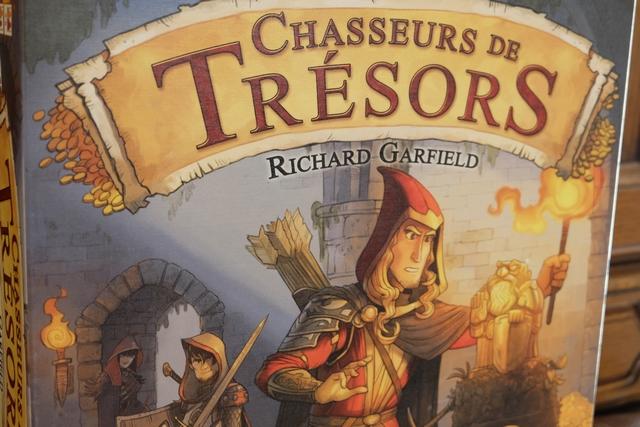 Une semaine après notre mémorable partie de St Germain, revoilà Chasseurs de Trésors, pour une partie moitié moins longue ou presque... ;-)