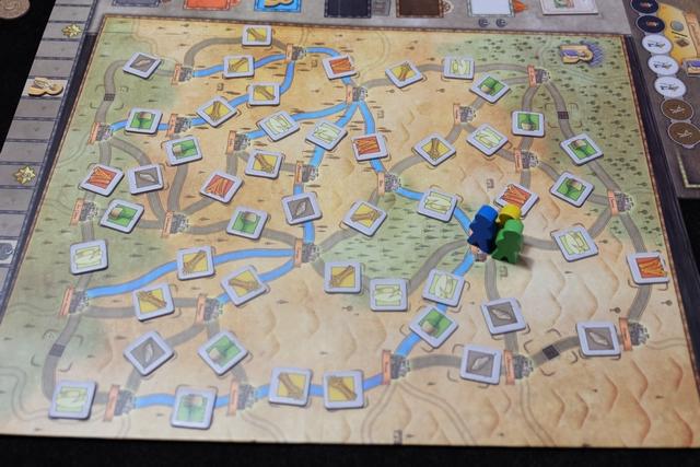 Voici la carte autour d'Orléans pour cette partie...