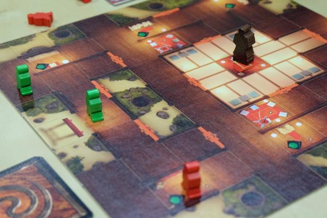 Un très agréable côté stratégique commence à émerger du jeu...
