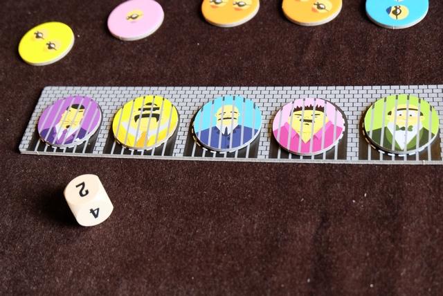 Cinq boss sont déjà en prison et la partie s'achève après seulement 4 tours de table ! Frustrant...