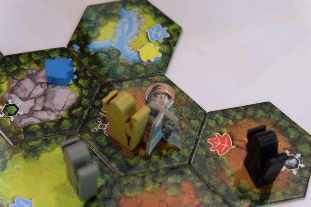 En ayant récupéré des animaux auprès de cette source, j'ai pu y déposer un jeton de druide à ma couleur...