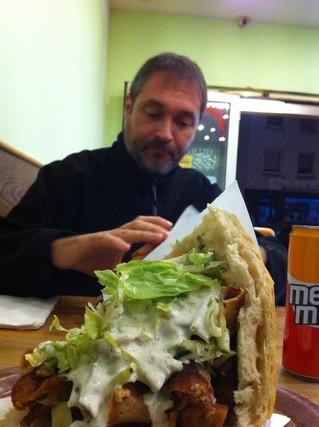 Dernier repas à notre cantine El Bagdadi ! On n'est jamais déçu, typiquement... ;-)