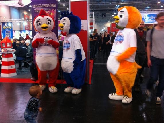 Ice Cool 2 sort pour Essen et Brain Games ne fait pas les choses à moitié comme vous pouvez le constater ! D'ailleurs, ils faisaient gagner carrément un voyage en Antarctique !!!