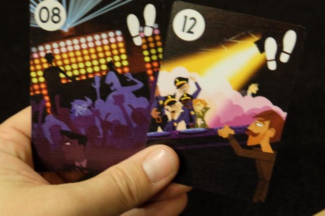 Mes deux premières cartes piochées en tant que Marshall. J'adore vraiment le look et l'enchaînement de celles-ci...