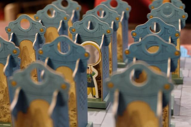 Jeux de miroirs... Oui, nos porteurs de miroir sont bien face à face...