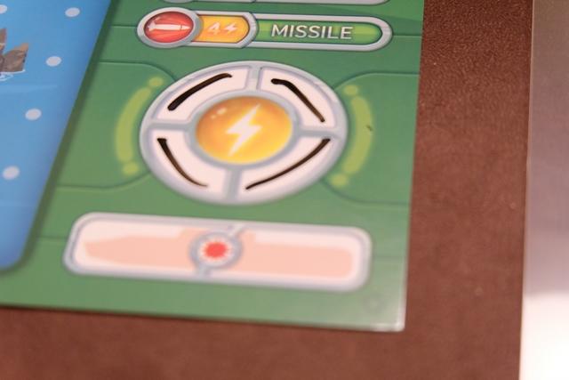 La fameuse zone de la notation de l'énergie : je peux tirer un missile !!!