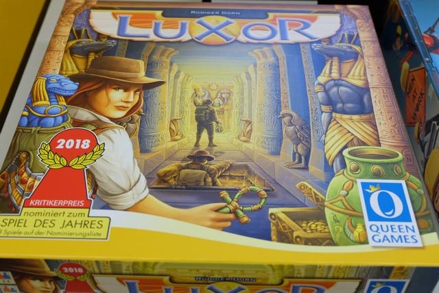 Retour à Luxor ! A 4 joueurs cette fois...