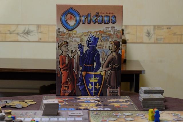 Ah... revoilà Orléans... Un jeu parfaitement dans le thème de la journée pour le coup !
