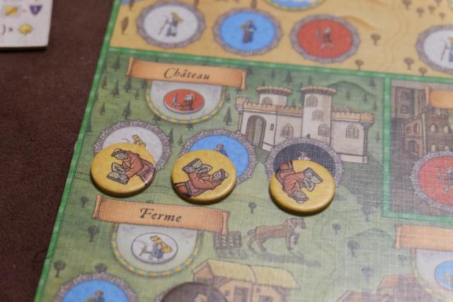 Des trucs de dingues arrivent parfois : je place 3 moines pour obtenir un chevalier !