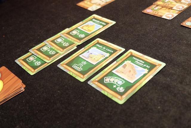 La sixième carte de bâtiment vient d'arriver : on lance chacun une dernière expédition (car on a un groupe sur la table) et c'en sera fini...
