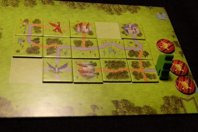 Voici donc mon troisième puzzle réussi et la victoire au bout.