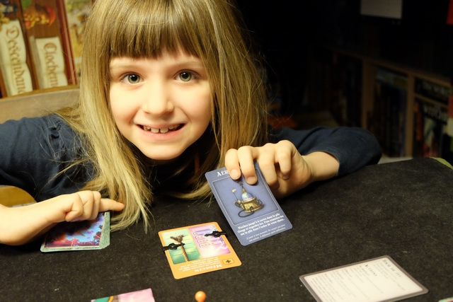 Jolie carte jouée par Leila !!!