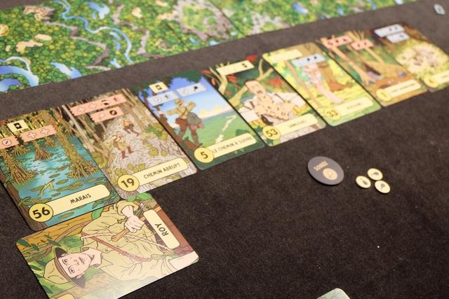 L'Histoire retiendra que Roy périt dans les marais et que l'expédition clôt ici sa première aventure...