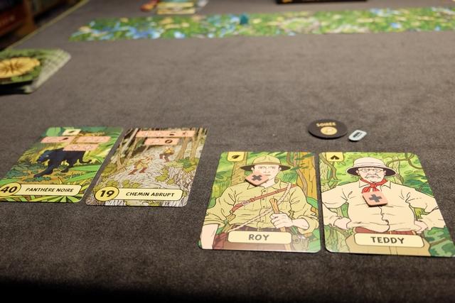 Fin de la première soirée et un effectif décimé : plus que deux explorateurs avec 1 point de vie chacun !