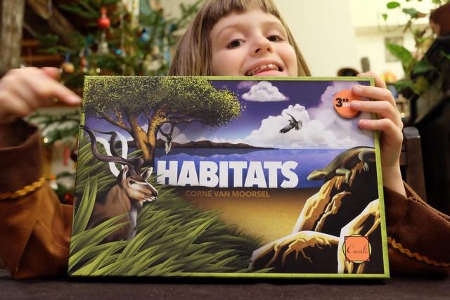 Habitats, forcément, est un jeu pour Leila, elle qui aime tant les animaux ! Et comme c'est un jeu Cwali, c'est aussi un jeu pour moi ! ;-)