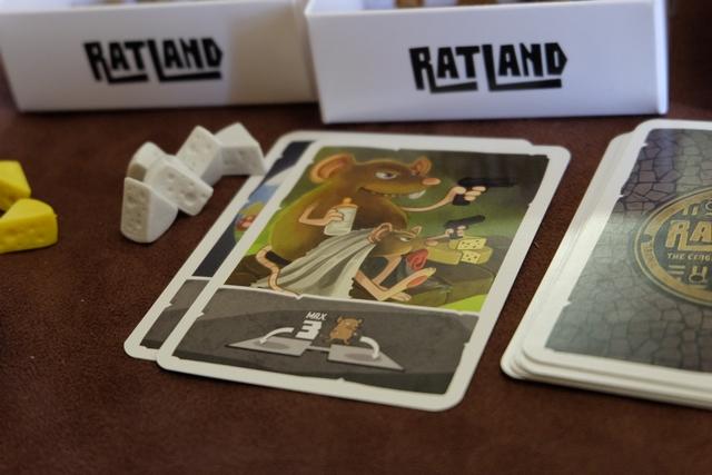 L'événement du tour nous autorise à placer un maximum de 3 rats sur le pont, entre la maternité et le garde-manger, avec des rats accomplissant les deux tâches...