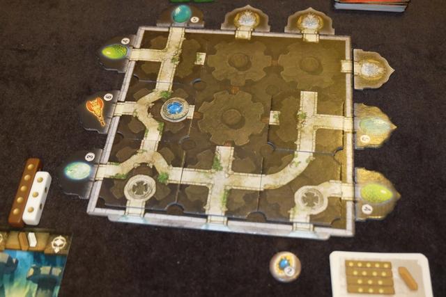 Et voici mon temple, une fois la partie terminée, remportée sans trop de challenge et c'est dommage.
