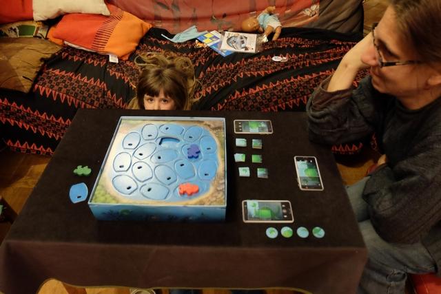 Oulala, je fais couiner Leila sur ce coup : j'ai photographié, en un seul tour, toutes les parties qui manquaient pour assembler tout mon puzzle !