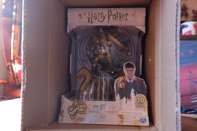 Oh, qu'il beau ce Perplexus dans l'ambiance d'Harry Potter...