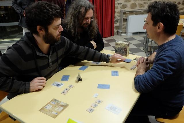 Quelle équipée !!! Avec Cédric Fernandez, le plus à gauche, Jérôme Leruculey en haut, Christophe Girard, à droite, et moi-même, franchement, quel pied !!!