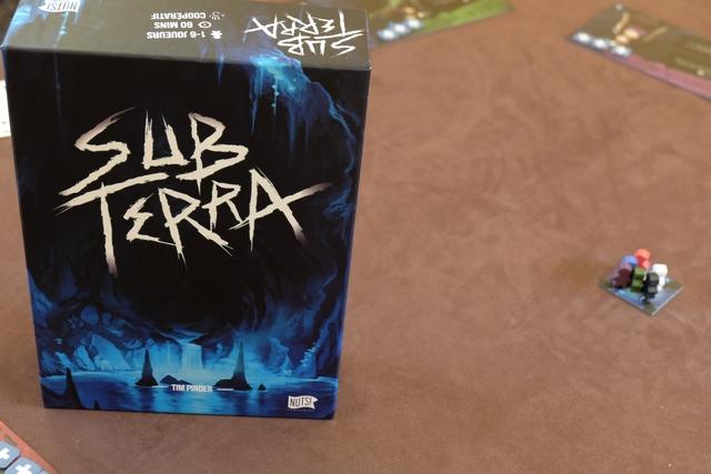 Ah... retour à Sub Terra ! A nouveau à 3 joueurs.
