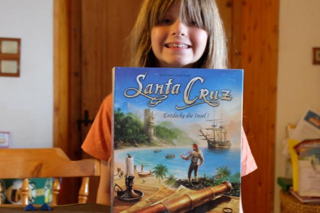 Un jeu de pirates ! Parfait pour Leila... Après que Tristan l'a beaucoup apprécié entre 2012 et 2014.