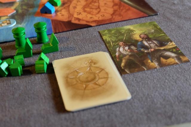 """J'ai choisi le tas de cartes typé """"routes"""", Leila optant pour celui """"mixé""""..."""