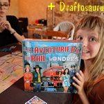 [18/08/2019] Les Aventuriers du Rail – Londres, Draftosaurus X 2