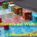 [26/07/2020] Alhambra das Würfelspiel, Codenames Duo X 3