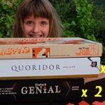 [17/08/2020] Einfach Genial X 2, Quoridor Deluxe X 3, Boomerang