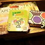 [28/11/2020] Tapestry + Manœuvres et Manigances, Salade 2 Points X 2, Fillit X 3