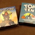 [29/11/2020] Les Trésors de Cibola, Top Ten